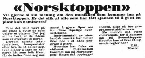 norske viser tekst