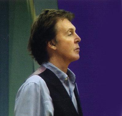 Paul I Studio Under Innspillingen Av Ecce Cor Meum
